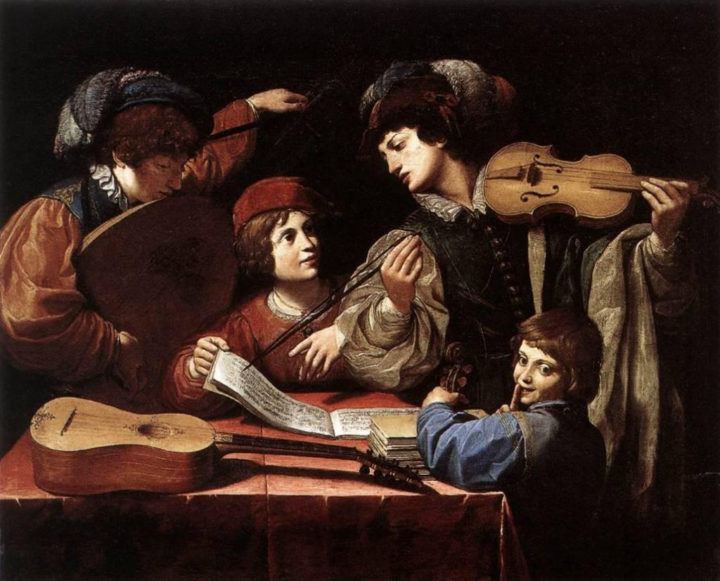 Spada Lonello le Concert , vers 1615