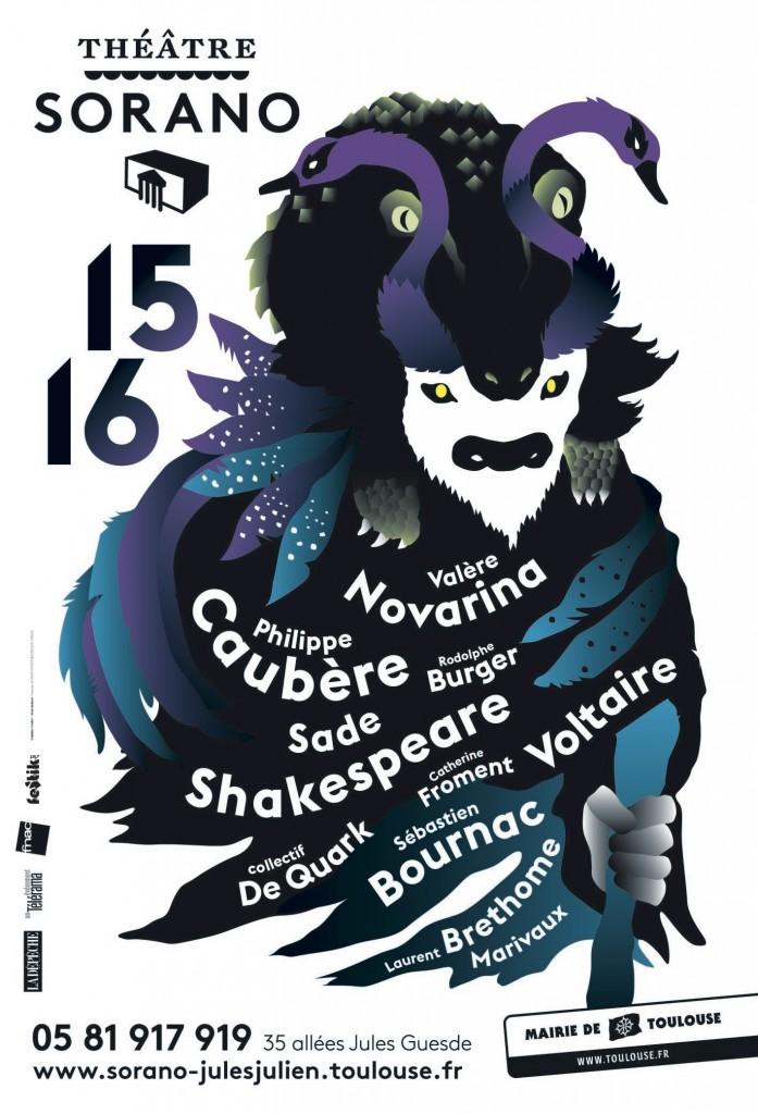 Théâtre Sorano - saison 15/16