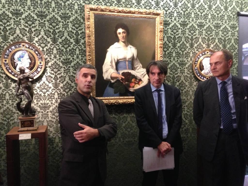 Laurent Roturier, Directeur des Affaires Culturelles - Pierre Espuglas, en charge des Musées à la Mairie de Toulouse - Guillermo de Osma