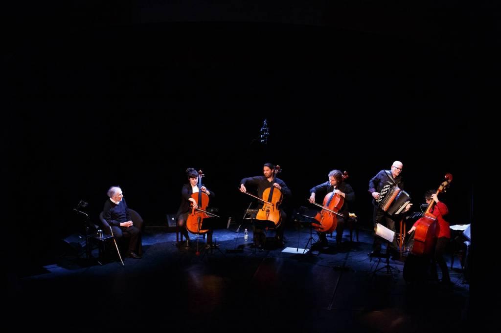 Trintignant et ses musiciens©Sante Castignani