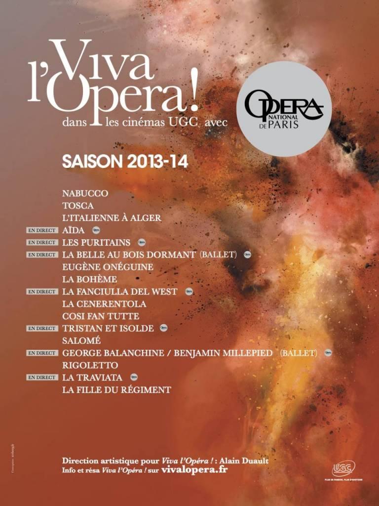 Viva l' Opéra ! - Saison 2013/ 2014