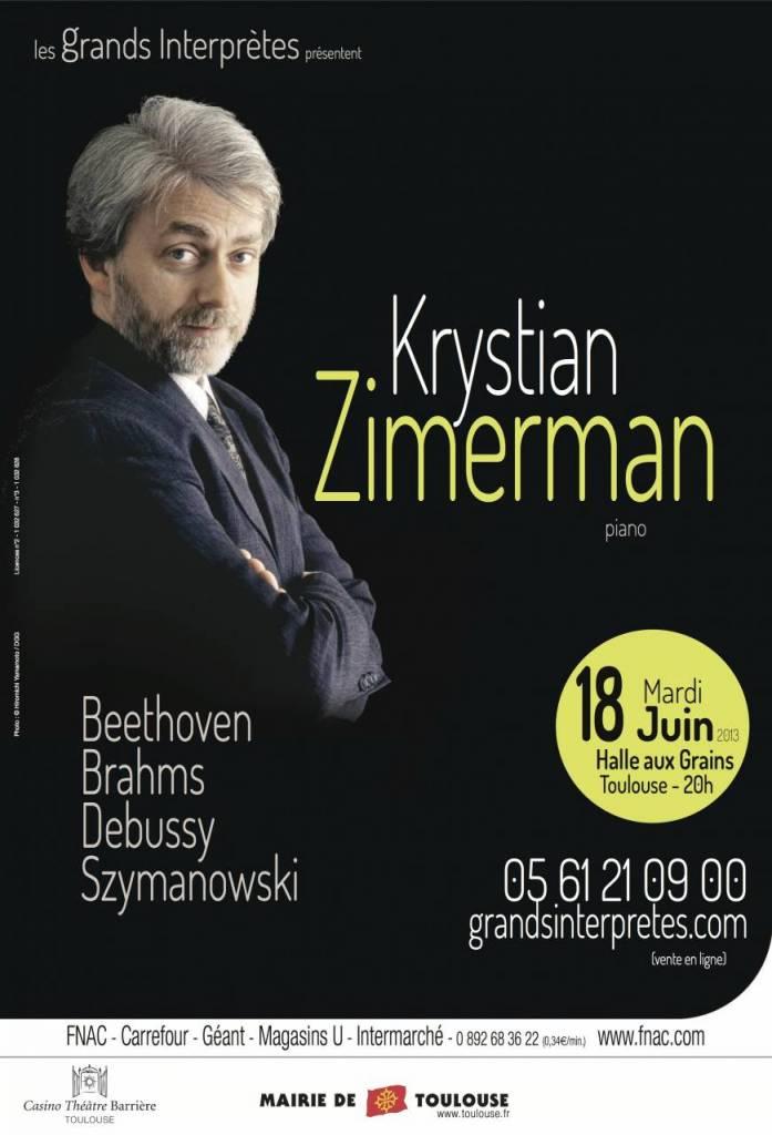 Krystian Zimerman - Halle aux Grains