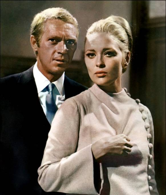 Steve McQueen et Faye Dunaway dans L'Affaire Thomas Crown