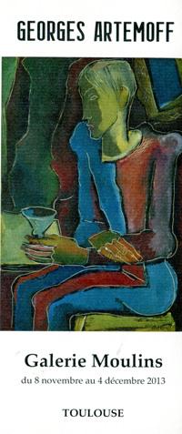 Exposition Georges Artemoff à la Galerie Moulins