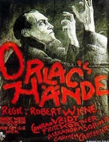 Les mains d'Orlac, un film de Robert Wiene