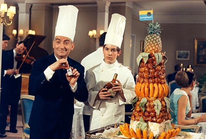 Louis de Funès dans Le Grand restaurant