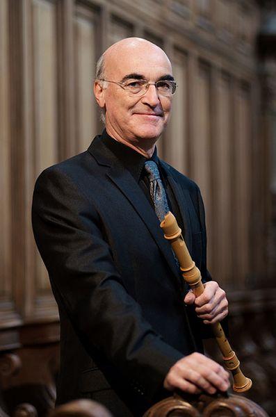 Jean-Marc Andrieu, flûte à bec et directeur des Passions - Photo J. J. Ader -