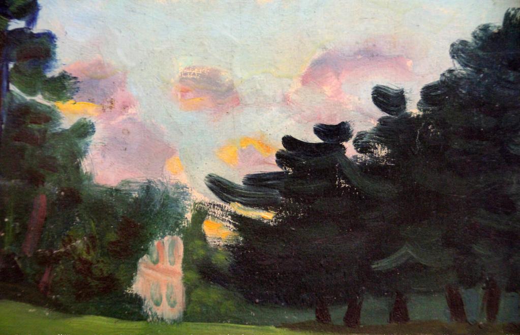 L'aube à Arquier (1941)