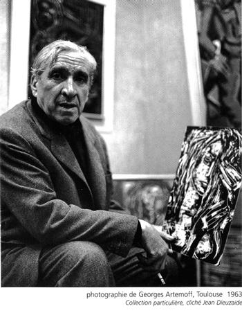 Georges Artemoff  © Jean Dieuzaide