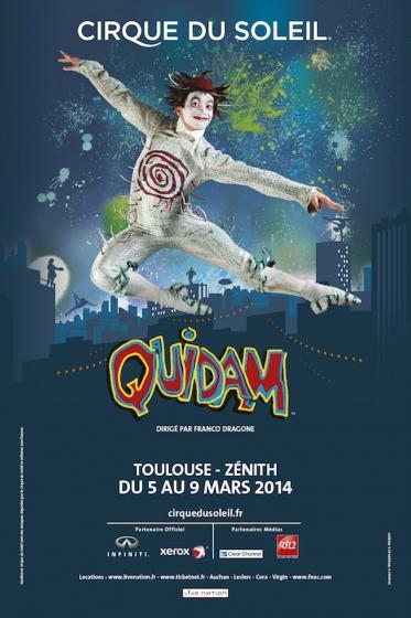 Cirque du Soleil - Zenith de Toulouse