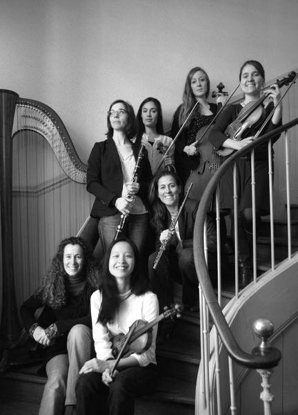 Les musiciennes du premier concert de la saison, le 6 octobre 2014