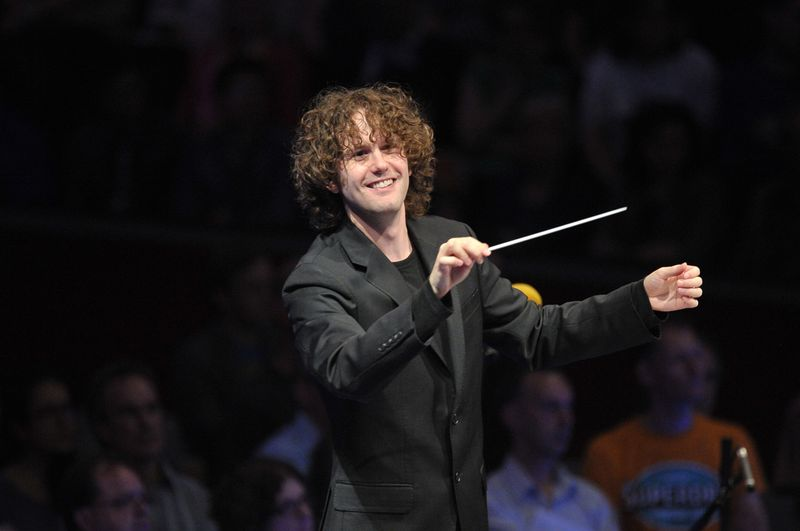 Le chef d'orchestre britannique Nicholas Collon - Photo BBC/Chris Christodoulou -