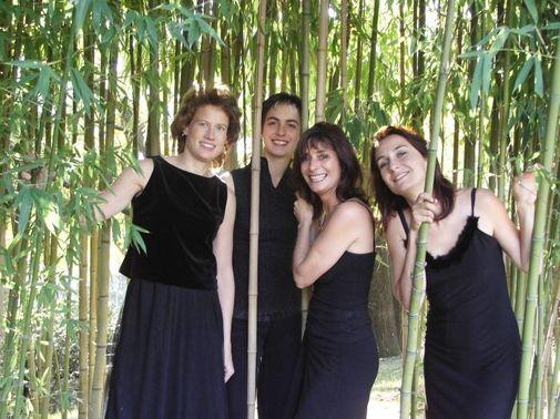 """Les musiciennes du Quatuor """"Cordes et âmes"""", interprètes des  """"Sept Dernières Paroles du Christ en Croix"""" de Joseph Haydn"""