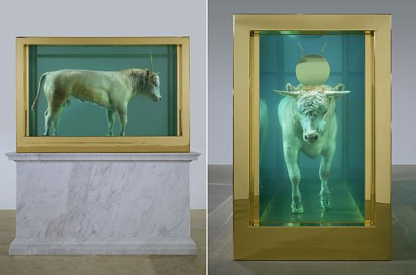 """""""Le Veau d'Or"""" de Damien Hirst"""
