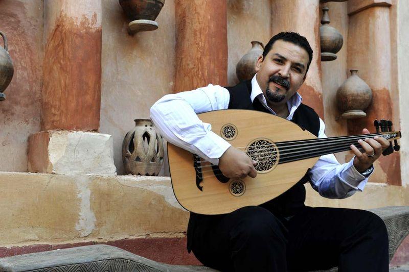 Driss El Maloumi, virtuose du oud, invité des Sacqueboutiers