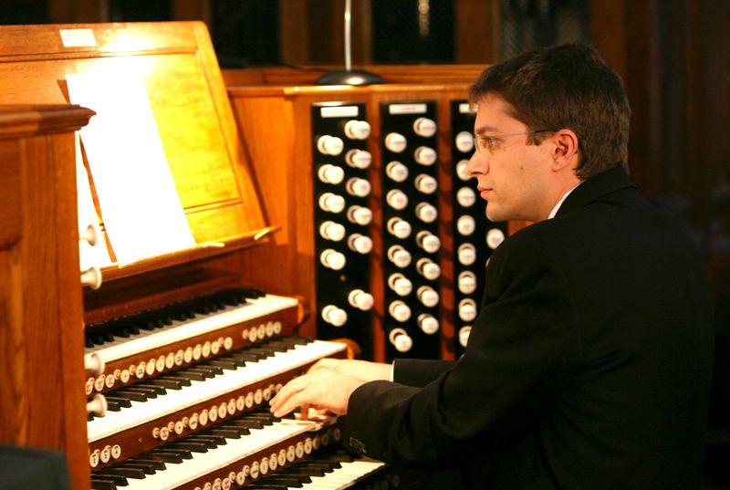 L'organiste Jean-Baptiste Dupont