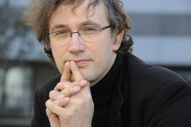 Le compositeur, organiste et improvisateur, Thierry Escaich - Photo Guy Vivien -