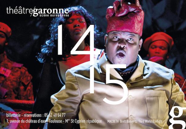 Théâtre Garonne - saison 14/15