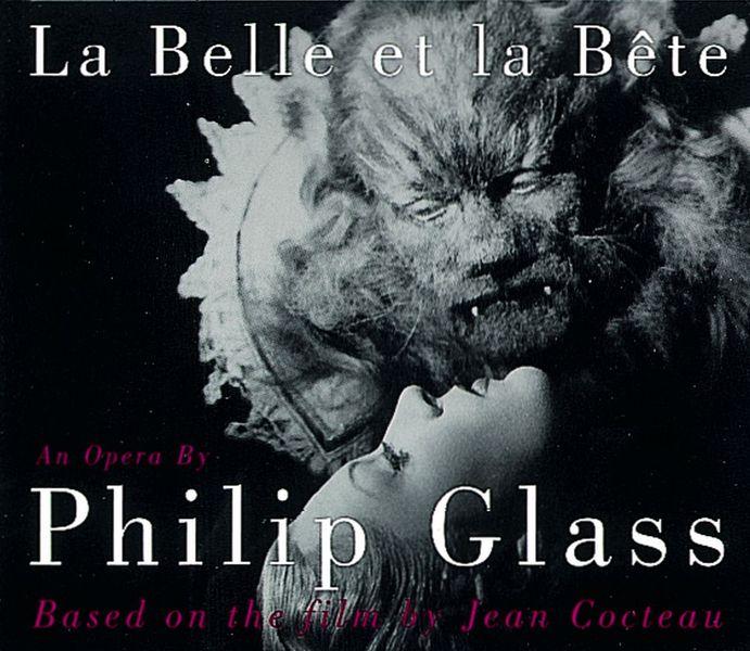 L'affiche du spectacle de Philip Glass/Jean Cocteau