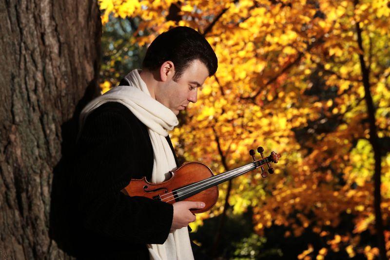 Le grand violoniste israélien Vadim Gluzman, soliste du concerto n° 2 de Prokofiev  - Photo J. Kringas -