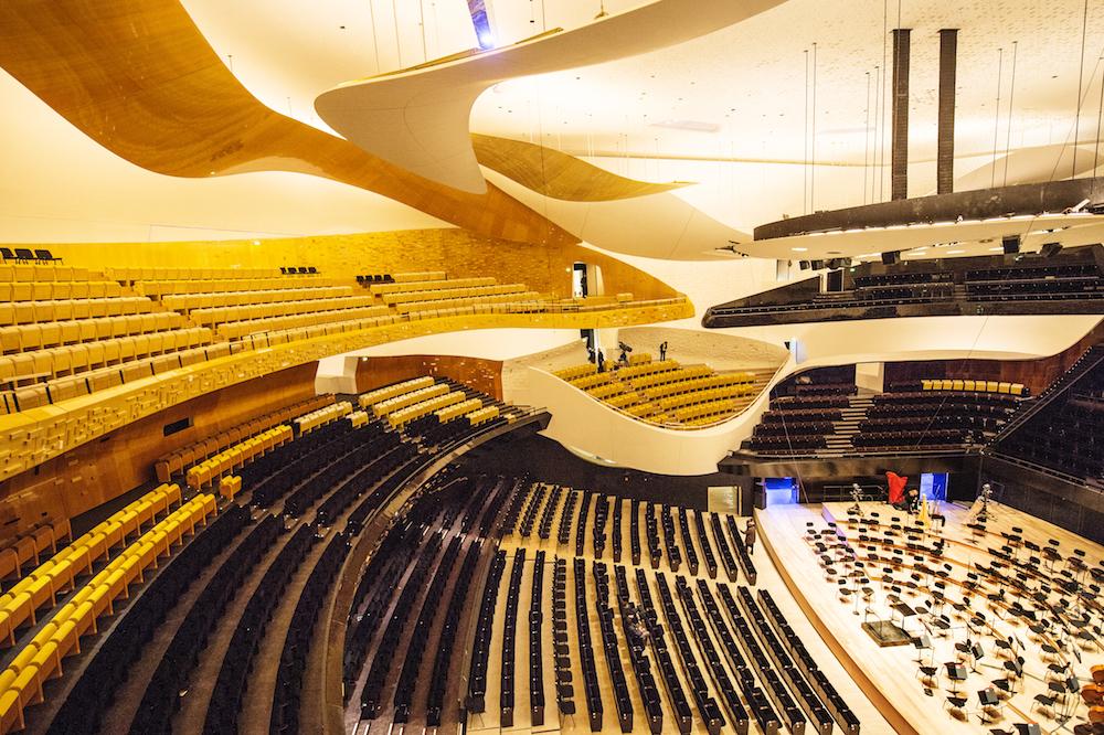 Philharmonie de Paris - Grande Salle © William Beaucardet