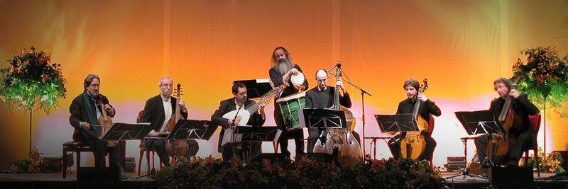 L'ensemble Hespèrion XXI, dirigé par Jordi Savall
