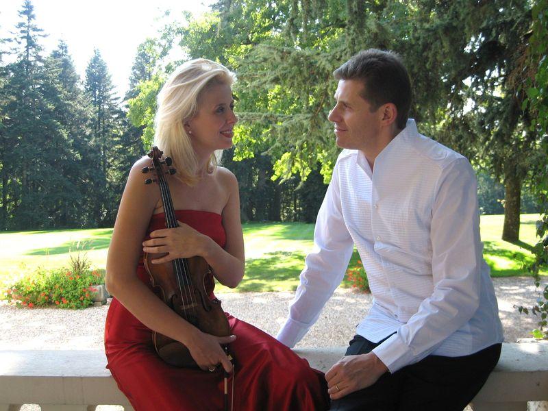 Clara Cernat et Thierry Huillet