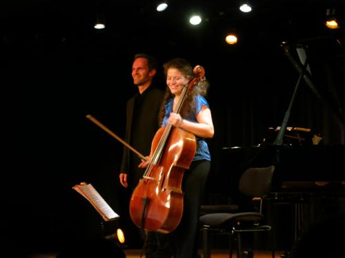 Sarah Iancu violoncelle - David Bismuth, piano © GP