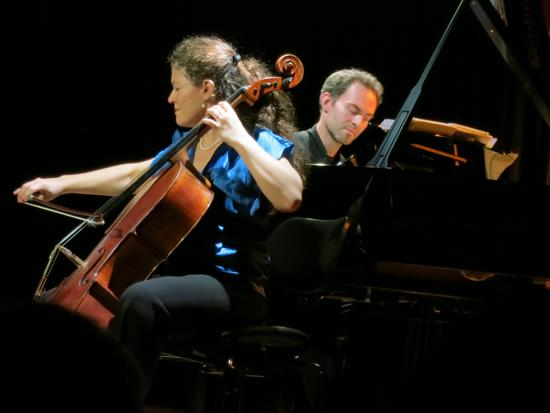 Sarah Iancu violoncelle - David Bismuth, piano