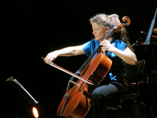 Sarah Iancu violoncelle  © GP