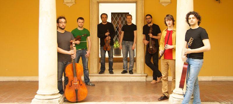 Les musiciens de l'orchestre Il Pomo d'Oro - Photo D'Alessio -