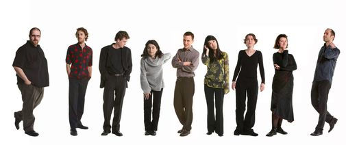 Les membres de l'ensemble vocal L'Instant Donné - Photo Suzane Brun -