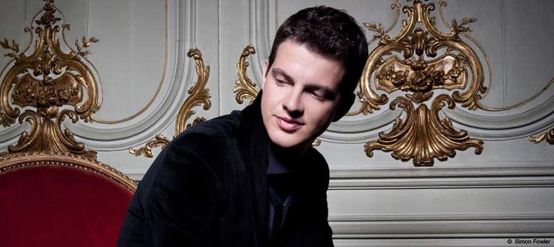 Le contre-ténor Philippe Jaroussky - Photo Simon Fowler -
