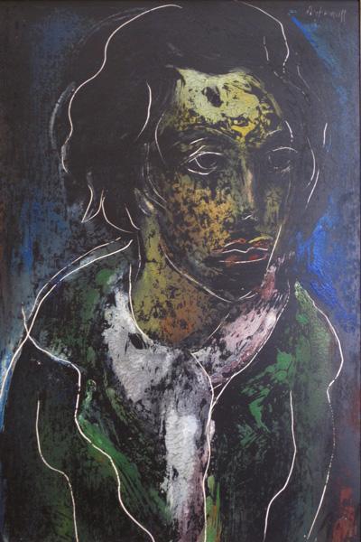 Georges Artemoff - Jeune Femme