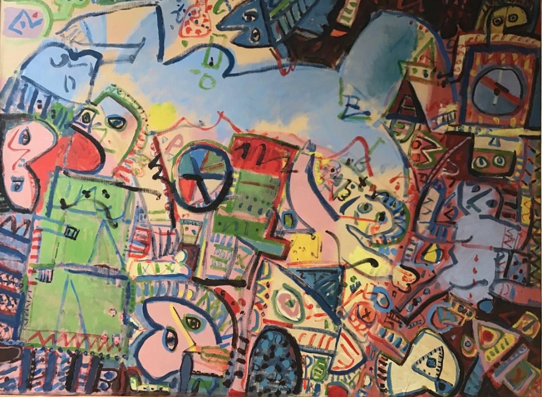 Artiste Peintre Contemporain Toulouse joan jordà, peintre à l'émotion d'un écorché vif - culture 31