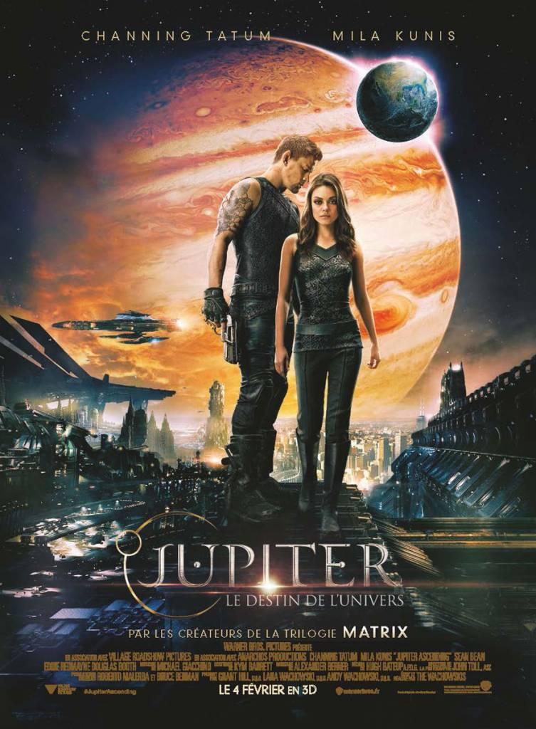 « Jupiter : Le Destin de l'Univers », un film de Lana et Andy Wachowski