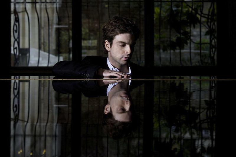 Le pianiste David Kadouch - Photo Doutre/Transart -