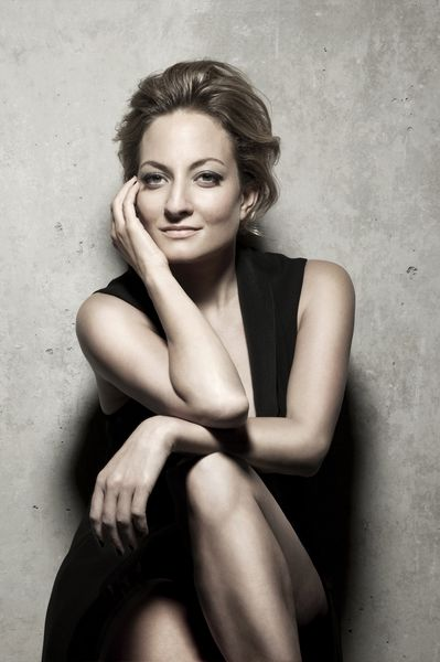 La soprano Christiane Karg © Gisela Schenker