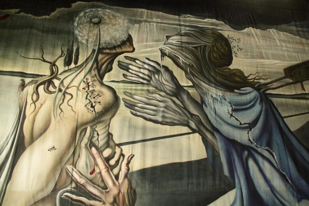 La toile de Salvador Dali, peinte en 1940