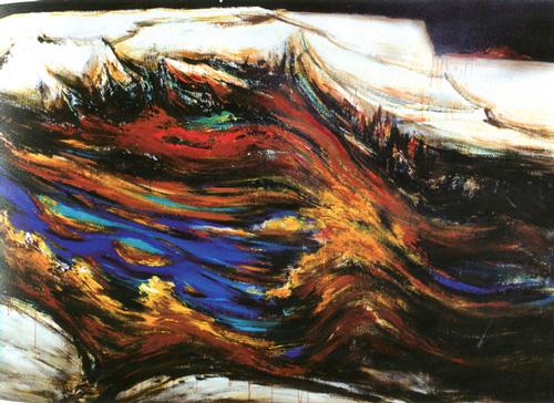 Pyrenees premieres neiges -  Li Jinyuan