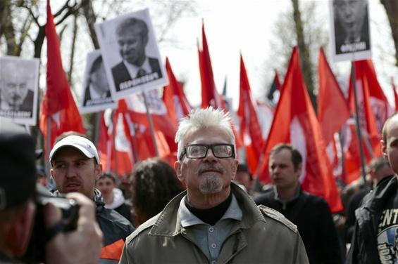 Edward Limonov à Moscou en 2013