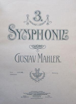 Mahler Manuscrit