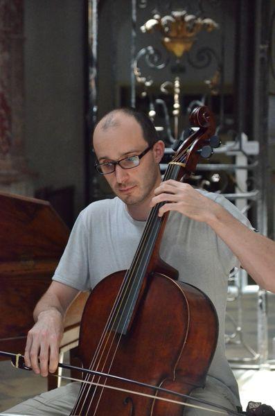 Etienne Mangot, viole de gambe et violoncelle