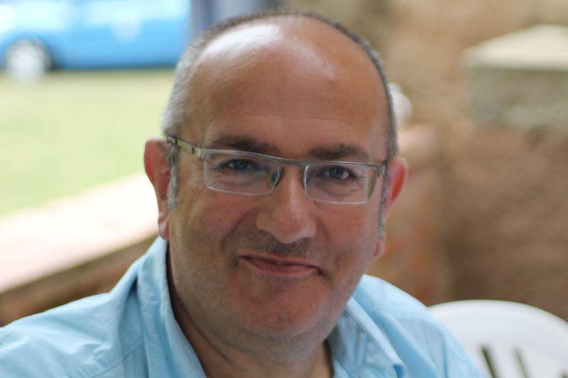 """Bertrand Maon, membre du chœur de chambre """"les éléments"""" et animateur du projet """"Enchantons-nous"""""""
