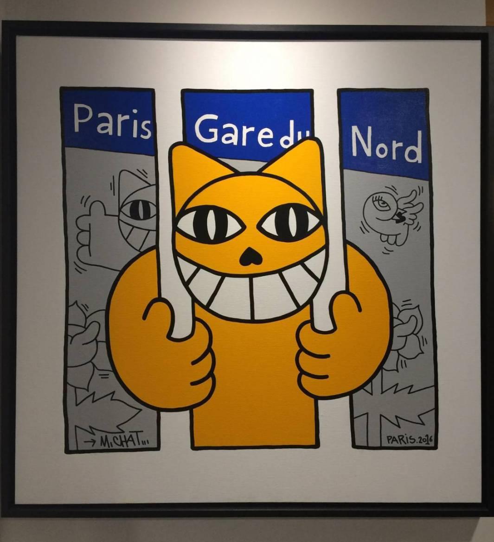 monsieur chat gare du nord