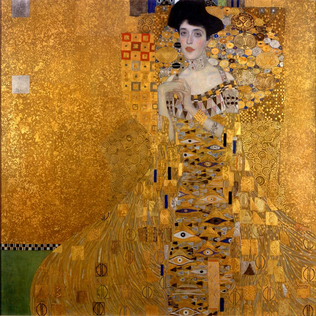 La femme en or - Gustav-Klimt
