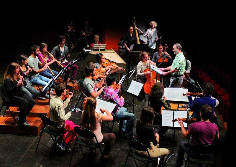 L'Orchestre Français des Jeunes Baroque, dirigé par Christophe Coin  - Photo Sylvain Pelly -
