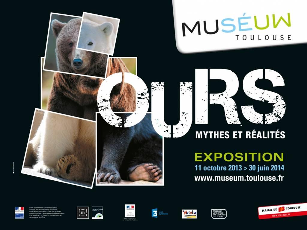 Exposition L' Ours - Muséum de Toulouse