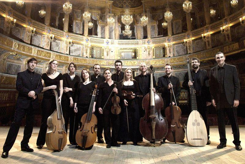 L'ensemble Les Paladins au service de Rameau - Photo Xavier Antoinet -