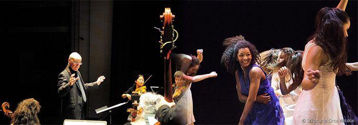 L'orchestre Les Passions, dirigé par Jean-Marc Andrieu et la compagnie James Carlès  - Photo Stéphane Gros-Nicolaï -
